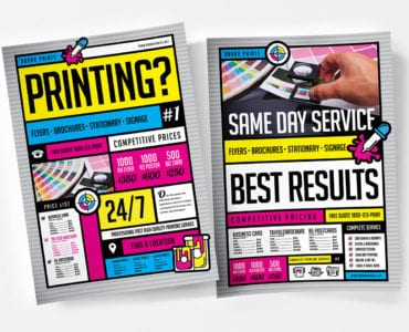 Free Print Shop Poster Templates