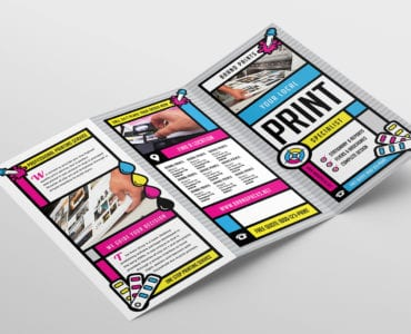 Free Print Shop Tri-Fold Brochure Template
