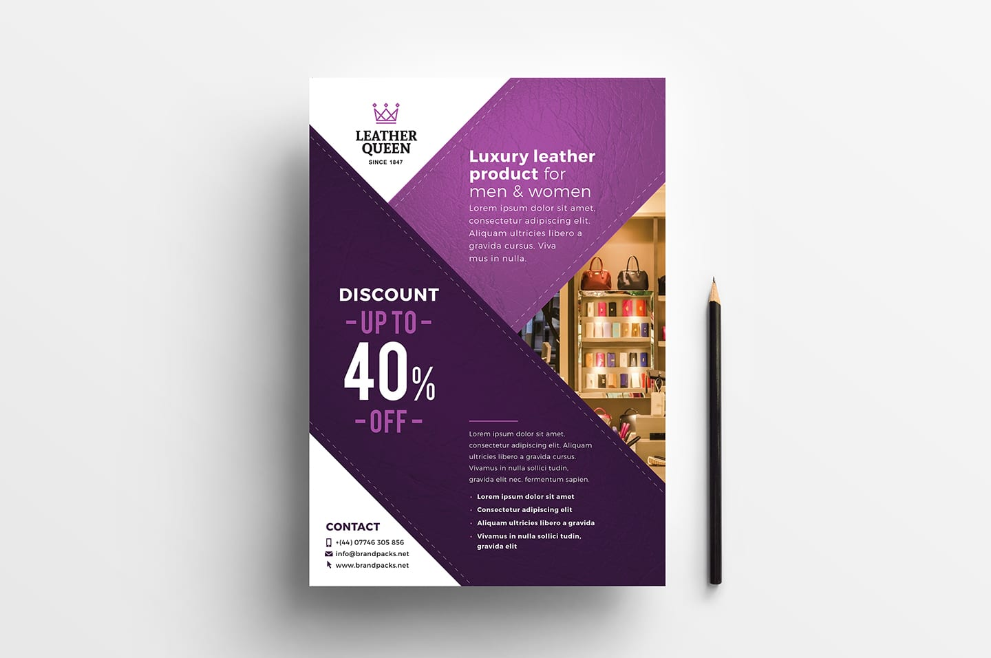 Free A4 Poster Template For