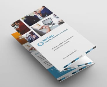 Free Corporate Trifold Brochure Template Front