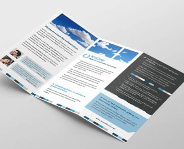 Free Corporate Trifold Brochure Template Inside
