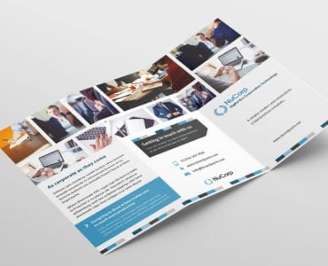 Free Corporate Trifold Brochure Template Outside