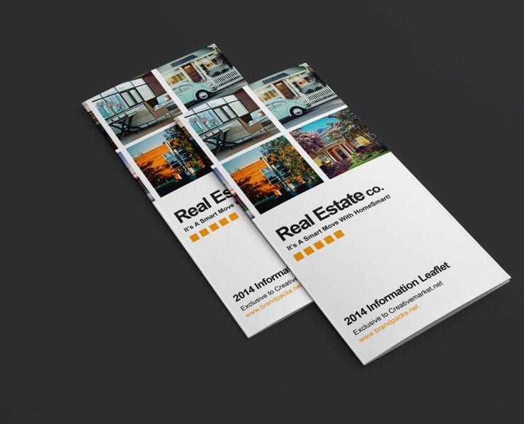 Free Real Estate Trifold Brochure Template