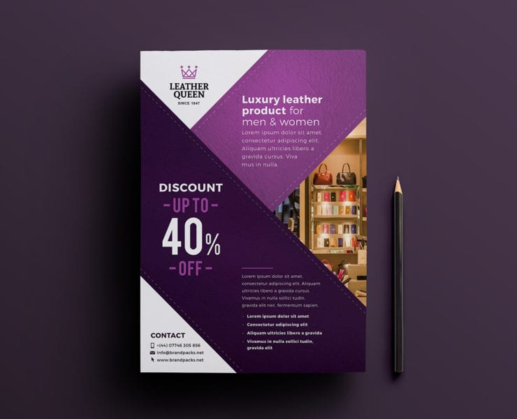Free Shop Poster Template