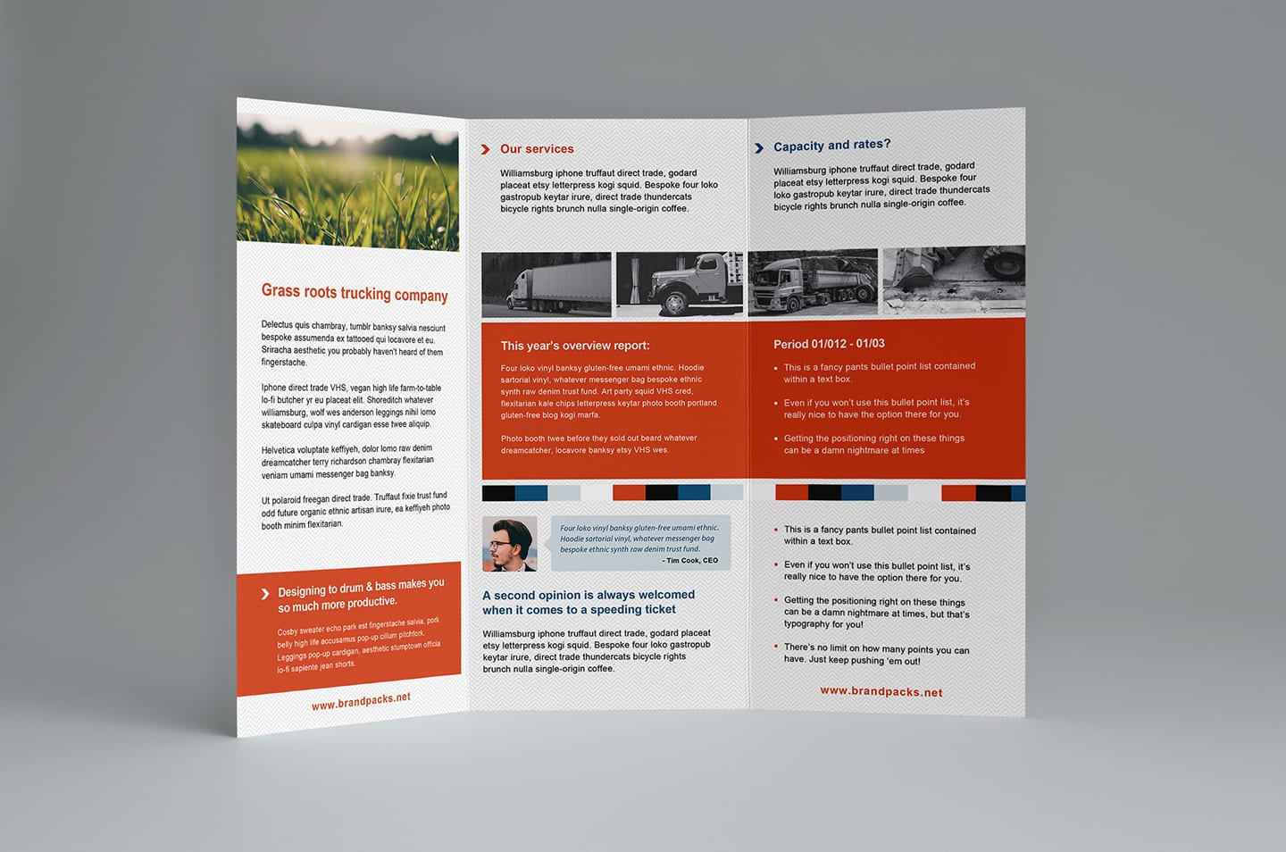 free trifold brochure template in psd  ai  u0026 vector