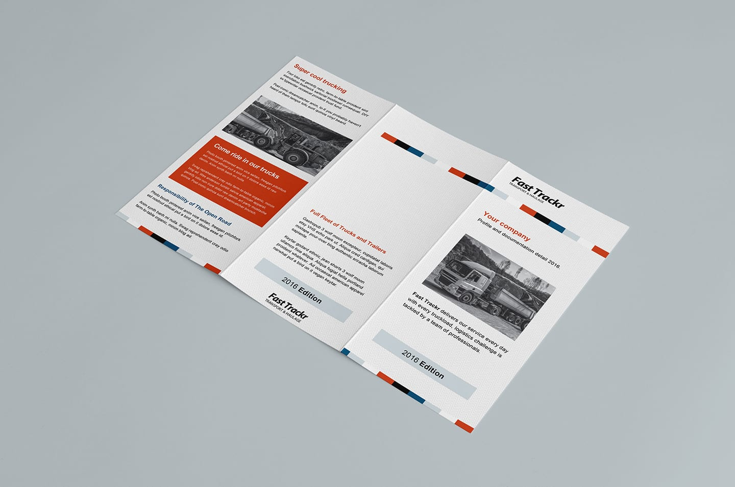 Free Trifold Brochure Template in PSD, Ai & Vector - BrandPacks