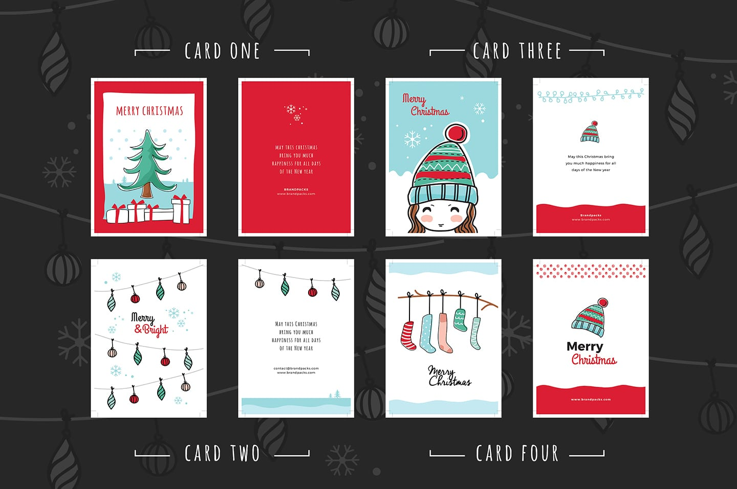 Free Christmas Card Templates.Free Christmas Card Templates For Photoshop Illustrator