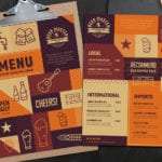 Free Craft Beer Menu Template