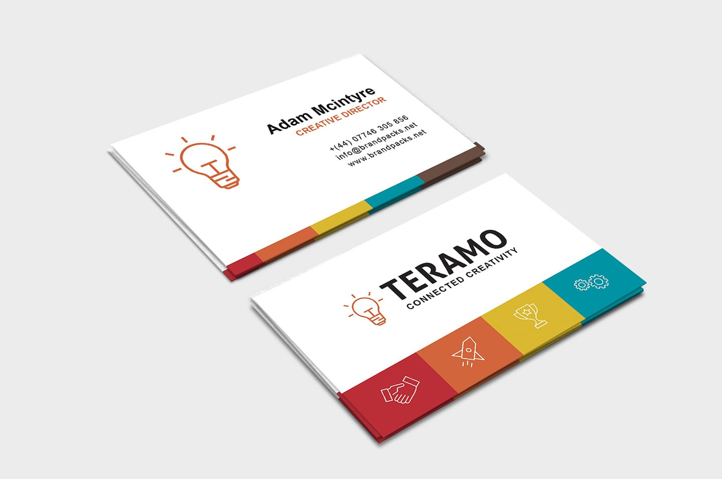 Free Business Card Template in PSD, Ai & Vector - BrandPacks Within Free Complimentary Card Templates
