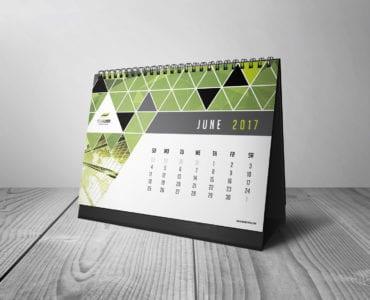 Free Calendar Template for Illustrator