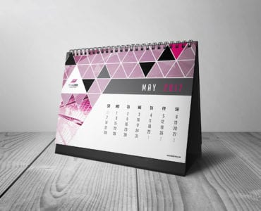 Free Calendar Template for Photoshop