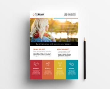 Free Creative Poster Template