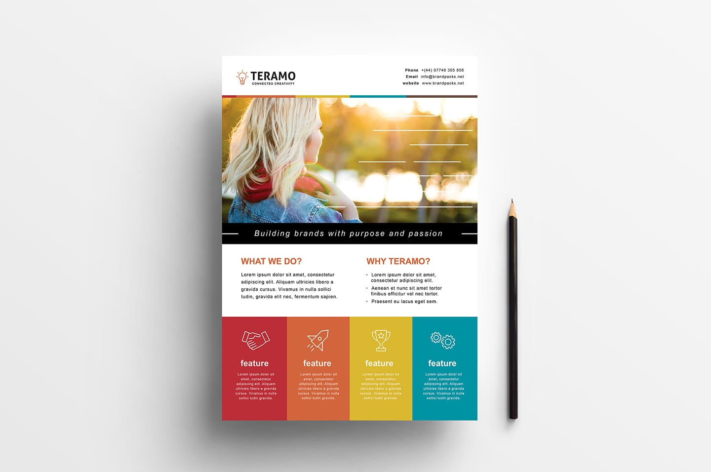 Free Creative Poster Template For