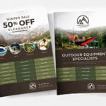 Free Camping Poster Templates