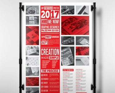 Freelancer Poster Template