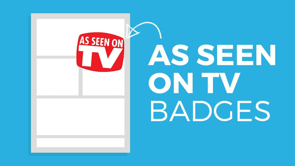 As Seen on TV Badge