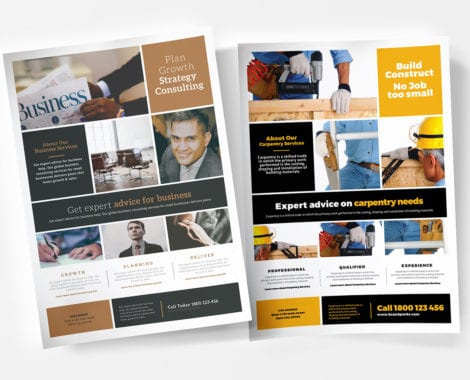 Free Multi-Purpose Business Poster Templates