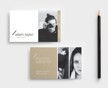 Free Photography Business Card Template