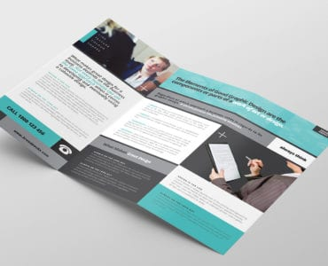 Free Business Trifold Brochure Template