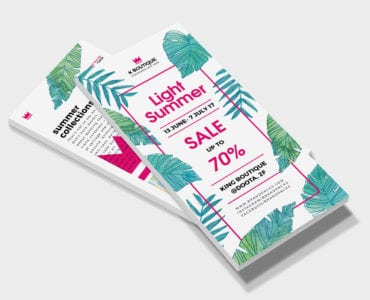 Free Fashion Boutique Flyer Template