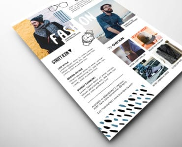 Free Fashion Flyer Template