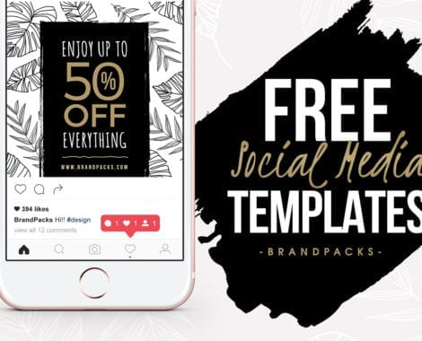 Free Social Media Templates Pack