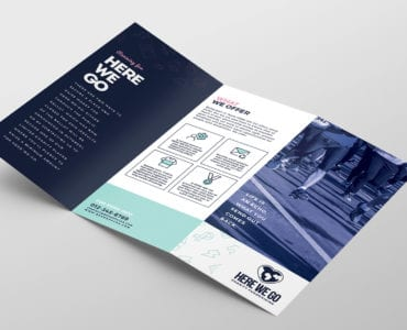 Free Charity Fundraiser Tri-Fold Template