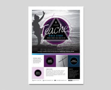Free Church Event Flyer Template