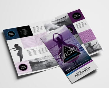 Free Church Tri-Fold Brochure Template