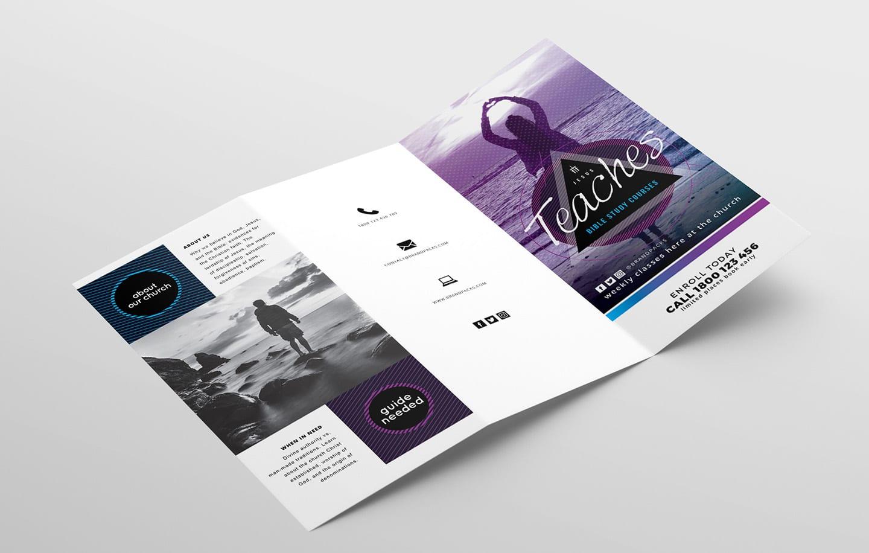 free church templates - photoshop psd  u0026 illustrator ai