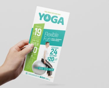 Free Yoga Studio Flyer Templates