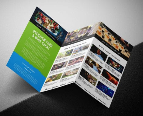 Free Event Trifold Brochure Template