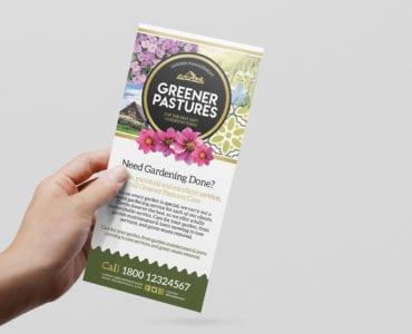 Free Gardener Flyer Template