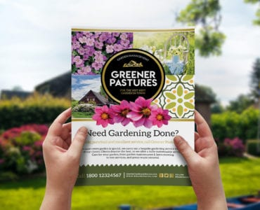 Free Gardening Flyer Template