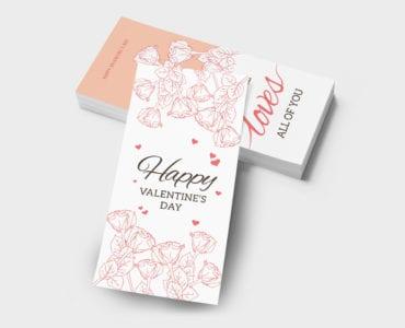 Free DL Valentine's Day Templates