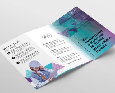 Free Tri-Fold Brochure Template