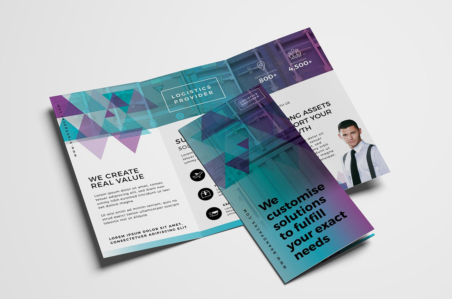 Trifold Brochure Template Vol 2 In Psd