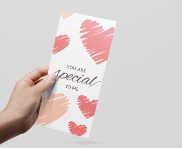Free Valentine's Flyer Template