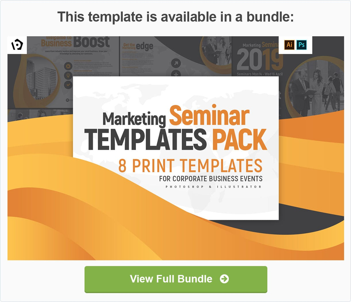 Corporate Templates Pack by BrandPacks
