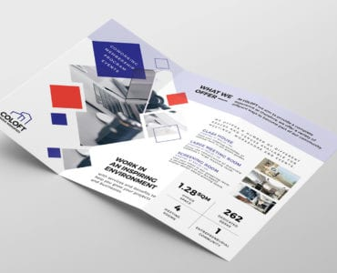 Free Corporate Tri-Fold Brochure Template
