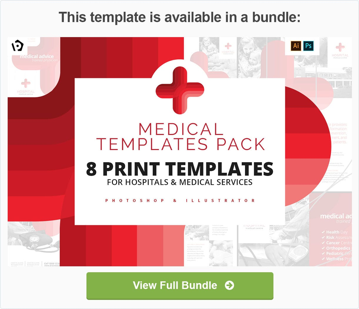 Medical Templates Pack by BrandPacks