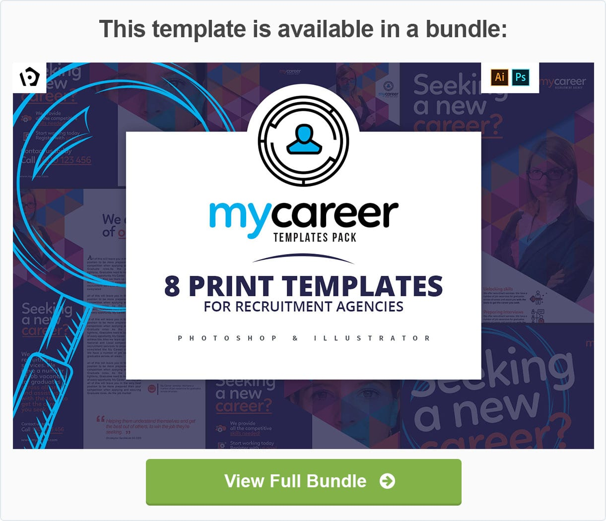 Recruitment Agency Templates Pack by BrandPacks