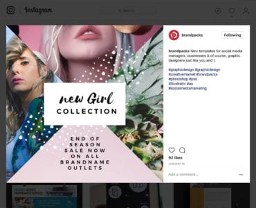 Free Instagram Templates & Masks