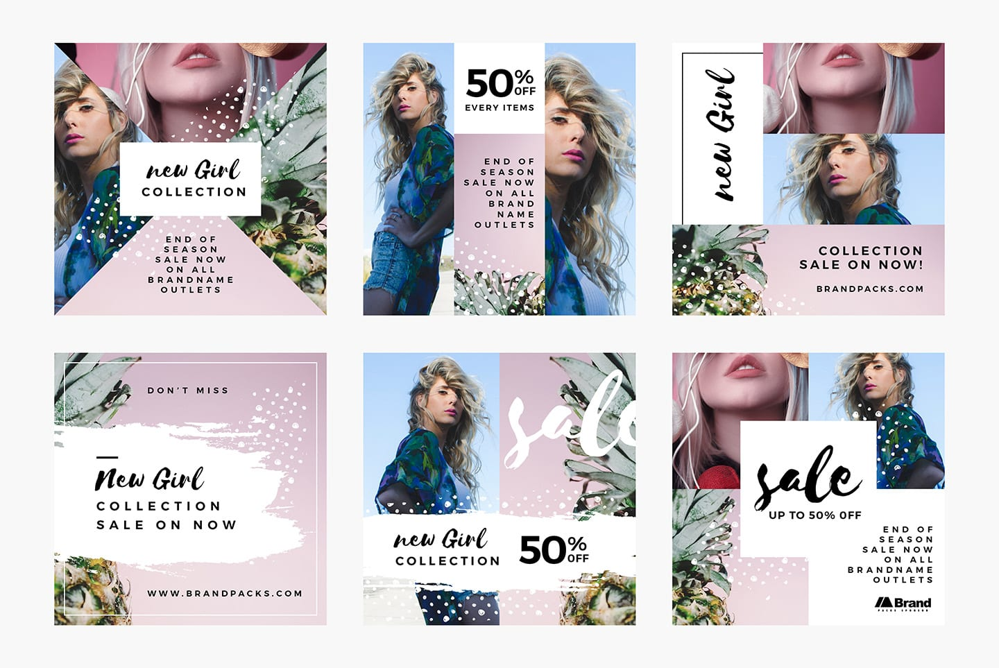 Free Instagram Templates in PSD, Ai & Vector - BrandPacks