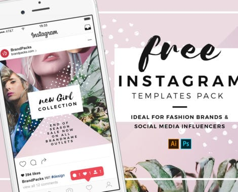 Free Instagram Templates in PSD, Ai & Vector