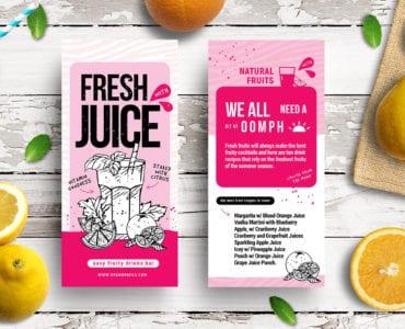 Free Juice Bar Flyer Templates