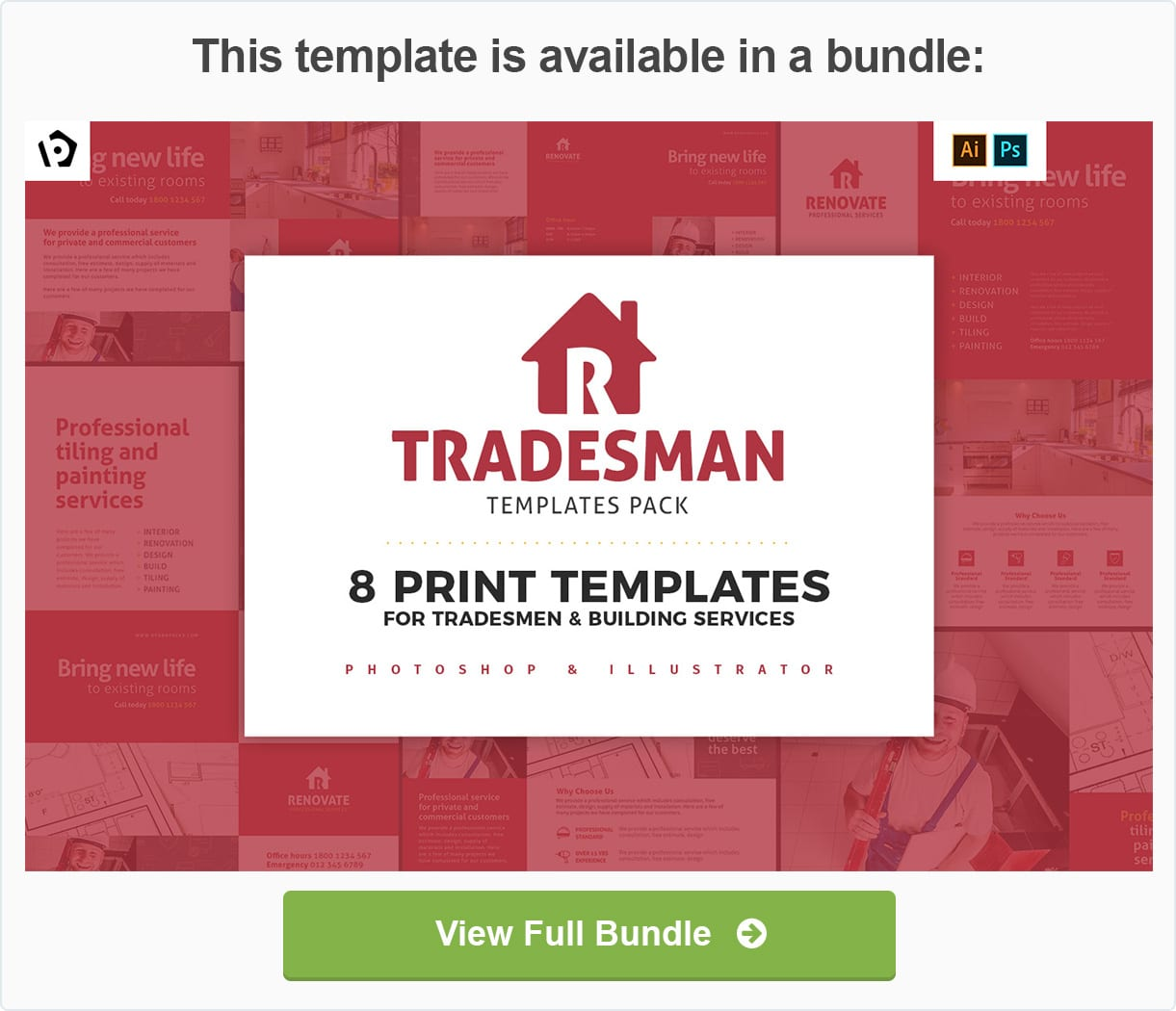 a4 tradesman poster advertisement templates by brandpacks graphicriver