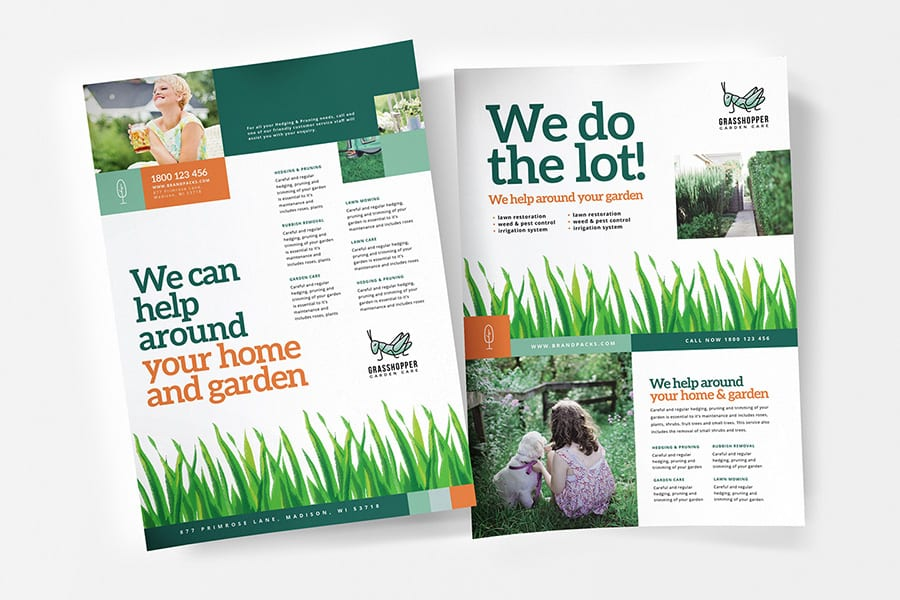 Gardener Poster Template