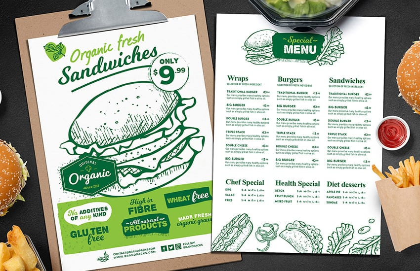 Burger Menu Templates