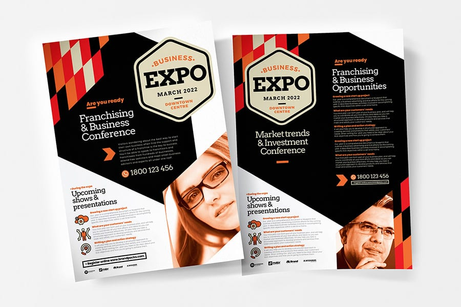 Business Expo Poster Templates